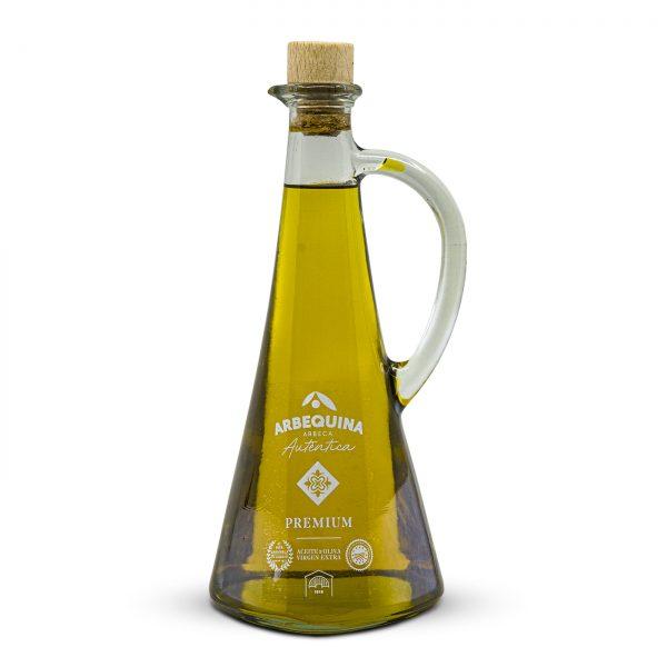 aceite de oliva virgen extra con aceitera