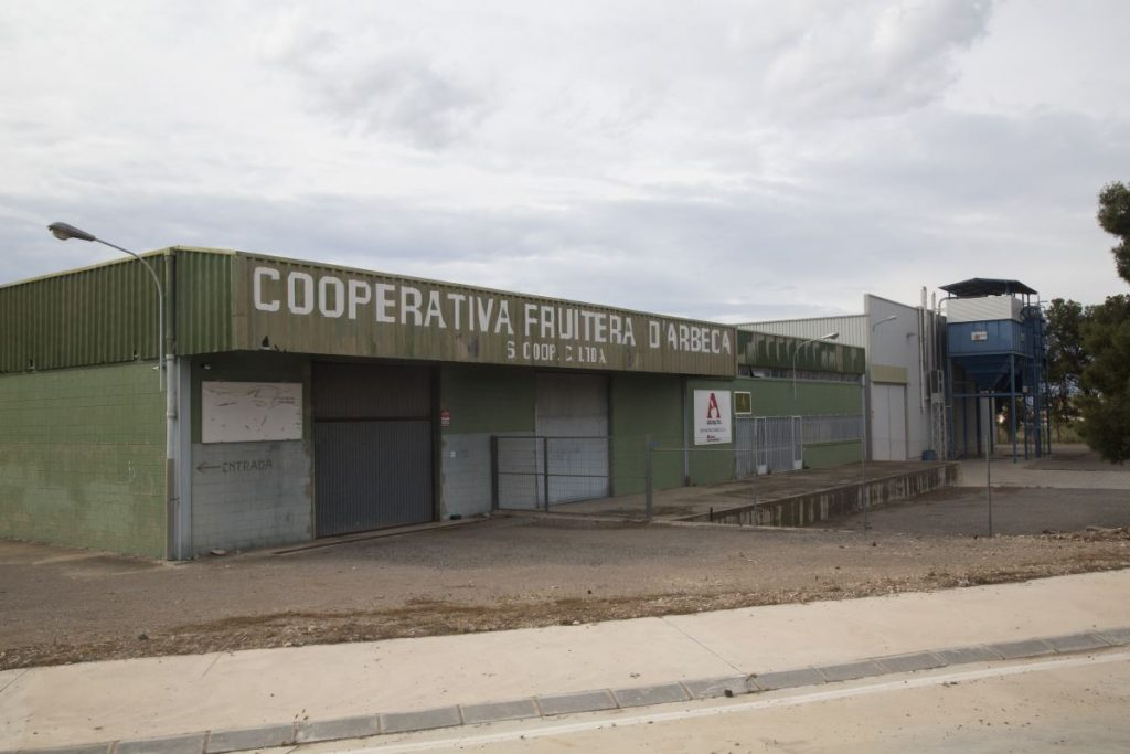 Instalaciones cooperativa de arbeca